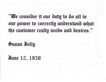 Susan Jolly Quote